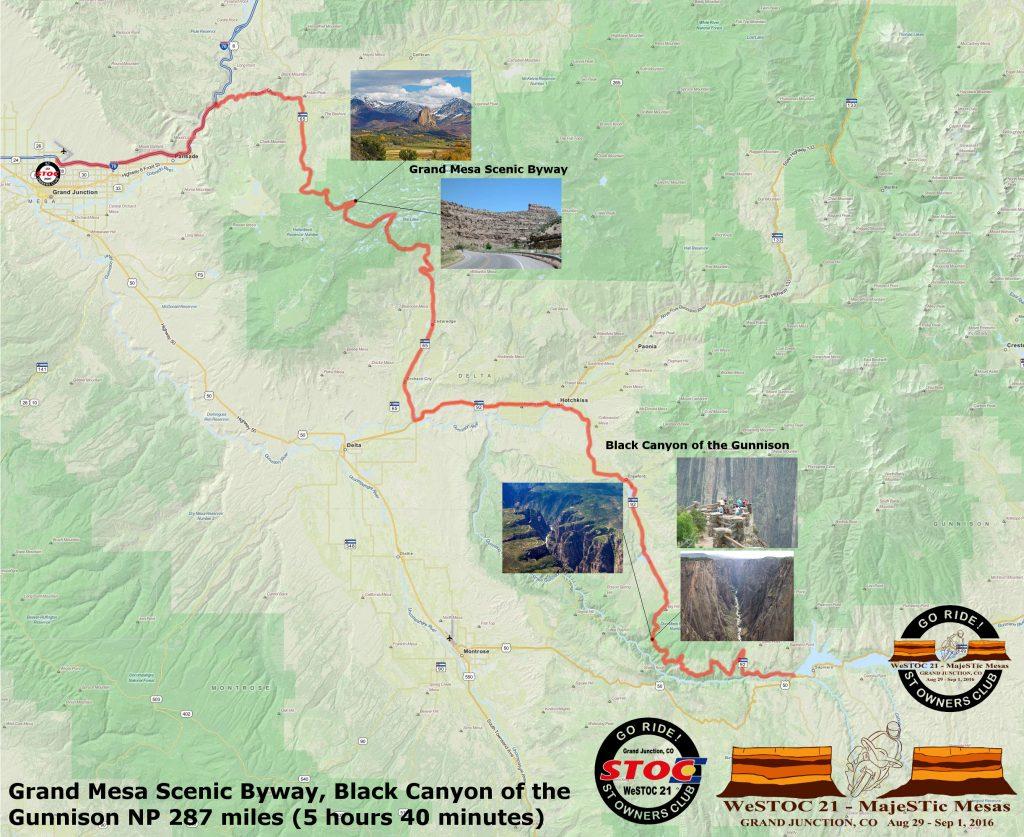 WeSTOC21 287 Mile Ride Map 128x64