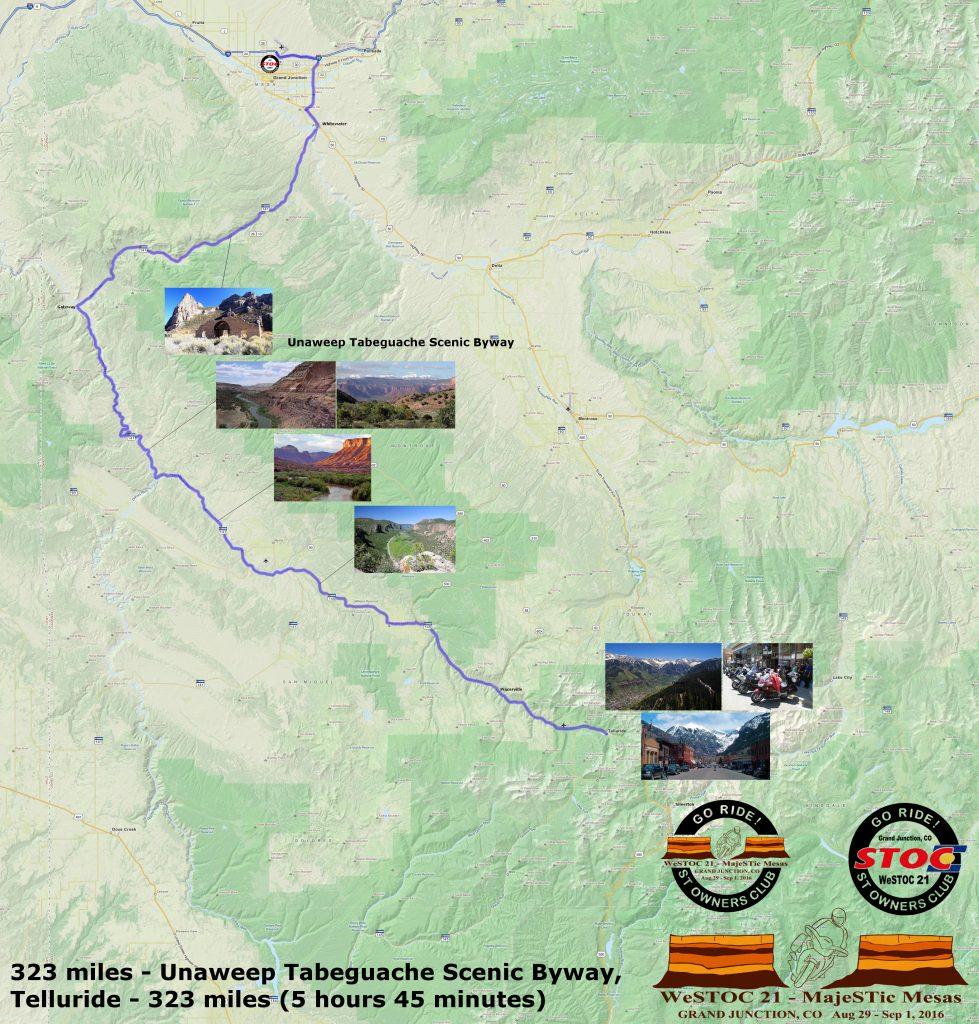 WeSTOC21 323 Mile Ride Map 128x64