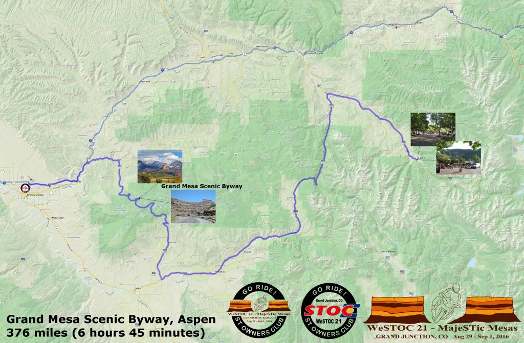 WeSTOC21 376 Mile Ride Map 128x64
