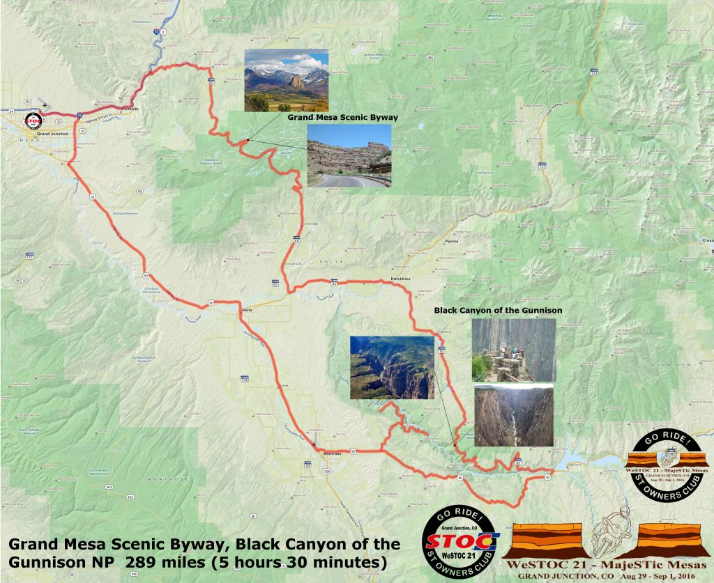 WeSTOC21 289 Mile Ride Map 128x64