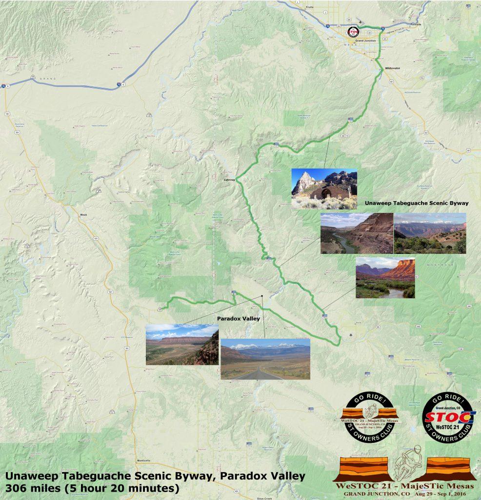 WeSTOC21 306 Mile Ride Map 128x64