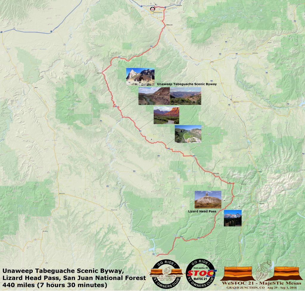 WeSTOC21 440 Mile Ride Map 128x64